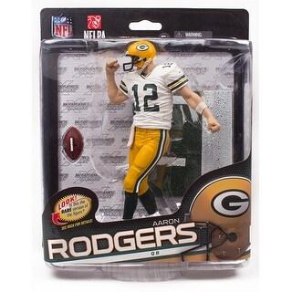 "Mcfarlane NFL 6"" Series 34 Figure Aaron Rodgers Green Bay Packers"