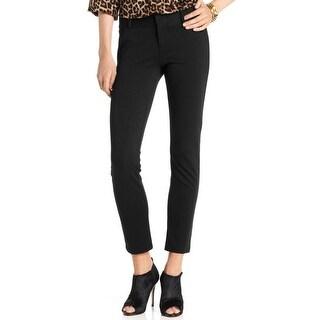 MICHAEL Michael Kors Womens Plus Dress Pants Ponte Flat Front