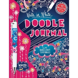 Write In White Doodle Journal: My Brilliant Scribbles-