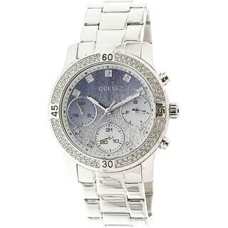 Guess Women's U0774L6 Silver Stainless-Steel Japanese Quartz Fashion Watch