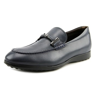 Tod's Doppia Round Toe Leather Loafer