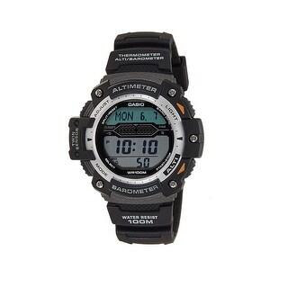 Casio Sgw300h-1Av Men's Digital Twin Sensor Sport Chronograph Wrist Watch, Black