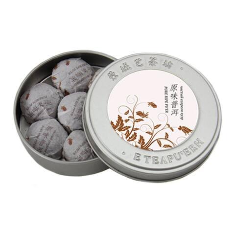 Puer Tea Small Mini Original Flavor Iron Box 35g