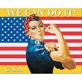 ''We Can Do It (Rosie the Riveter)'' by J. Howard Miller Military Art Print (16 x 20 in.) - Thumbnail 0