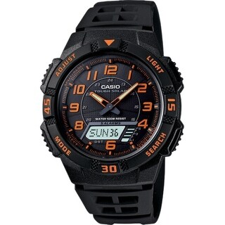 Casio AQS800W-1B2V Casio AQS800W-1B2V Wrist Watch - Men - Sports Chronograph - Anadigi - Solar