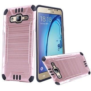 Insten Hard PC/ Silicone Dual Layer Hybrid Rubberized Matte Case Cover For Samsung Galaxy On5