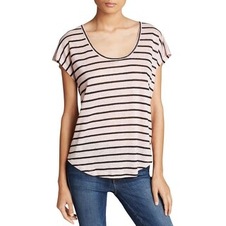 Joie Womens Keirrah Pullover Top Linen Striped - xs