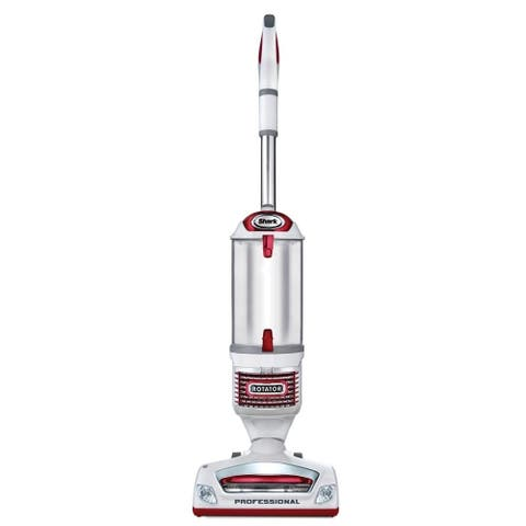 Shark Rotator Professional Lift-Away Upright Vacuum (NV501), White with Red Chrome (Used - Good) - 45.7 x 12.2 x 12.1 in.