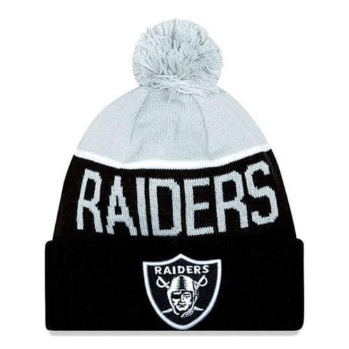 c816b761ef2 Shop New Era NFL 2015 Sideline Knit Pom Beanie Hat - Oakland Raiders - Free  Shipping On Orders Over  45 - Overstock - 18617652