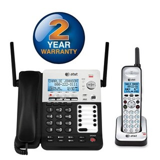"""""""AT&T SB67138 4 Line Corded/Cordless Phone"""""""