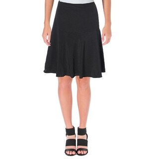 Lauren Ralph Lauren Womens Mini Skirt Polka Dot A Line
