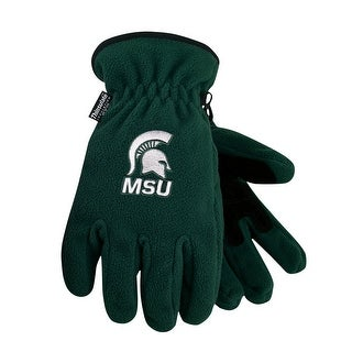 Michigan State University Heavy-Weight Fleece Gloves (3 options available)