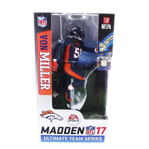 Denver Broncos Madden NFL 17 Series 2 Figure: Von Miller (Blue Jersey Chase) - multi