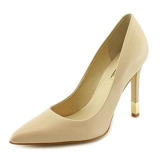 Guess Babbitta Women  Pointed Toe Leather Nude Heels