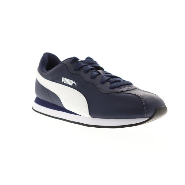 Shop Puma Turin II NL Peacoat White Mens Low Top Sneakers ...