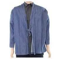 SHDWBX For Laboratory. Mens Large Cardigan Jean Jacket