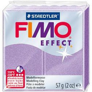 Lilac Pearl - Fimo Effect Polymer Clay 2Oz