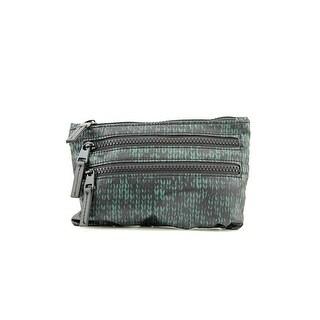 Shiraleah Colorado Zip Women Nylon Cosmetic Bag NWT - Green