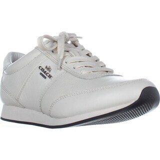 Coach Raylen Fashion Sneakers, Chalk/Chalk
