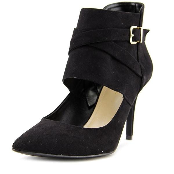BCBGeneration Lemie-X Women Pointed Toe Suede Black Heels