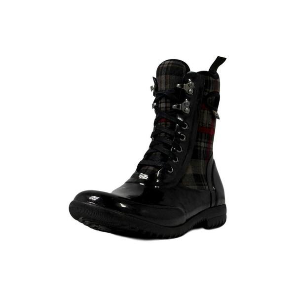 Bogs Boots Womens Sidney Lace Plaid Neo Tech Waterproof