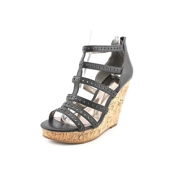 Carlos by Carlos Santana Maiko Womens Black Sandals