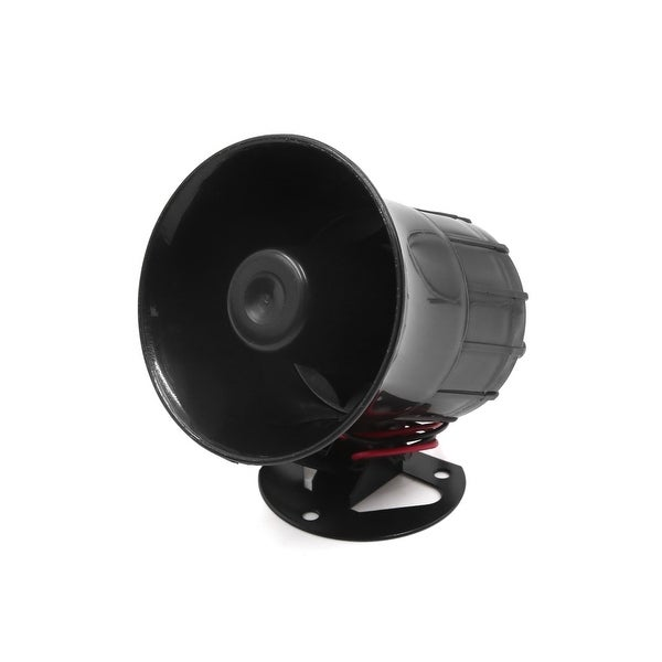 Motorcycle Car 4 Tone Sounds Loud Security Warning Siren Horn DC 12V 30W