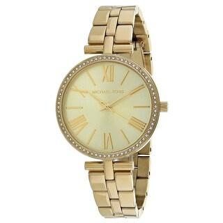 Michael Kors Women's Maci Gold Dial Watch - MK3903