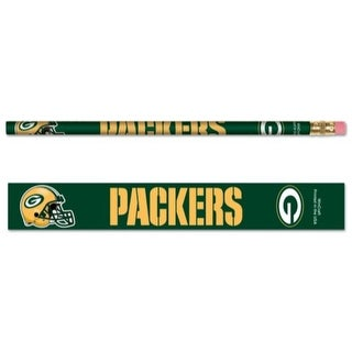 Green Bay Packers Pencil 6 Pack