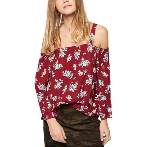 Sanctuary Clothing Womens Cassie Knit Blouse