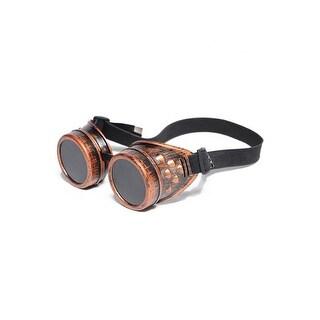 Underwraps Steam Punk Goggles Copper - Orange