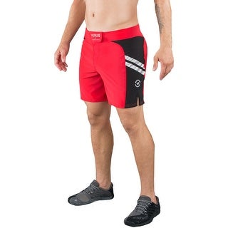 Virus Jade Series Stay Cool Disaster Combat MMA Shorts - Red/Black