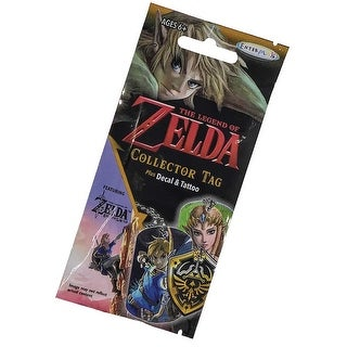 Legend of Zelda Collector Tags Fun Pack