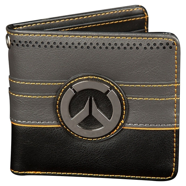 Overwatch New Objective Men's Bi-Fold Wallet - Multi