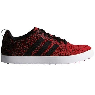 Adidas Men's Adicross Primeknit Power Red/Black/White Golf Shoes F33353