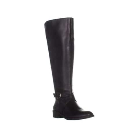 INC International Concepts Womens Fadoral Leather Closed Toe Knee High Riding Boots