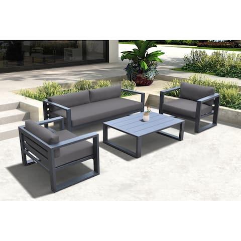 Aegean Outdoor 4 Piece Sofa Seating Set