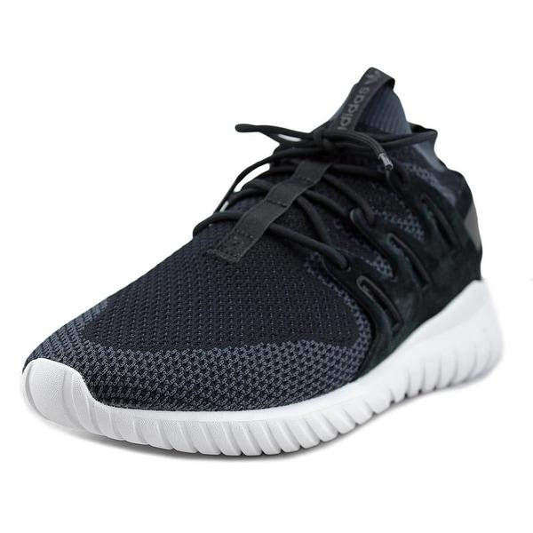 Adidas Tubular X Primeknit Men Round Toe Synthetic Black Sneakers