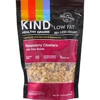 Kind Fruit and Nut Bars - Rasberry Clusters With Chia Seeds ( 6 - 11 OZ)