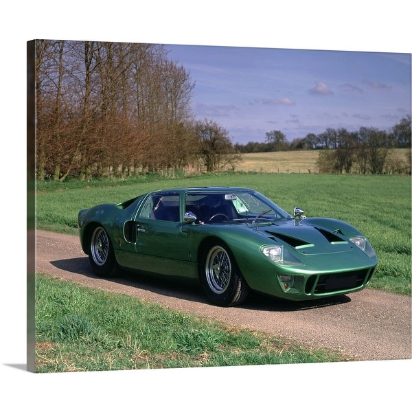 """""""1966 Ford GT40"""" Canvas Wall Art"""