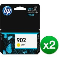 HP 902 Yellow Original Ink Cartridge (T6L94AN) (2-Pack)