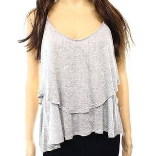 052081f58c70f4 Quick View. Was  8.29.  2.71 OFF. Sale  5.58. Lush Large Junior Layered V- Neck Asymmetric Tank Cami Top