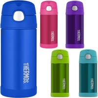 Thermos 12 oz. Kid's Funtainer Vacuum Insulated Stainless Steel Water Bottle - 12 oz.