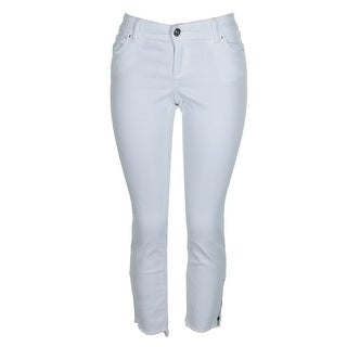 Shop Inc International Concepts Bright White Gold Step Hem
