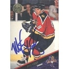Mike Hough Florida Panthers 1993 Leaf Autographed Card This item comes with a certificate of authenticity from Autogr