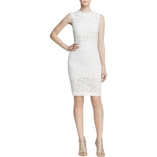 Elizabeth and James Womens Levine Cocktail Dress Cut-out Sheath