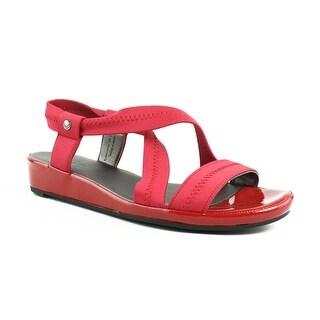 LifeStride Womens Debutante Red Sandals Size 7.5 (C,D,W)