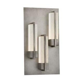 "Eurofase Lighting 33693 Pari 3 Light 18"" Tall Integrated LED Outdoor Wall Sconce"