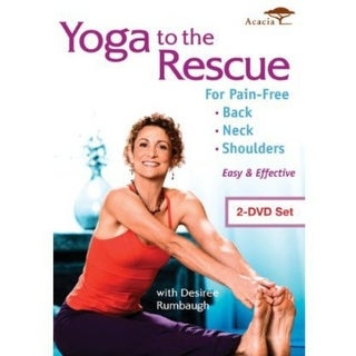 Yoga to the Rescue for Pain Free Back Neck & Shoul [DVD]