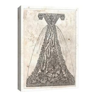 "PTM Images 9-126742  PTM Canvas Collection 8"" x 10"" - ""Vintage Dress"" Giclee Dresses Art Print on Canvas"